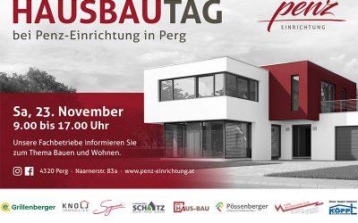 Hausbau-Tag Penz am 23.11.2019